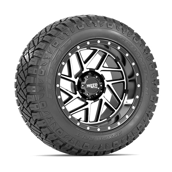 OFF ROAD WHEEL AND TIRE 13