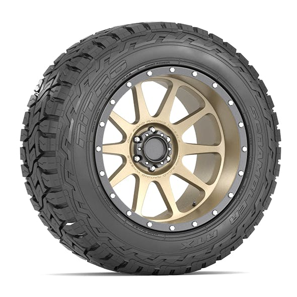 OFF ROAD WHEEL AND TIRE 14 - 3DOcean Item for Sale