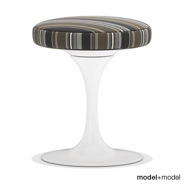 Knoll Tulip stool - 3DOcean Item for Sale