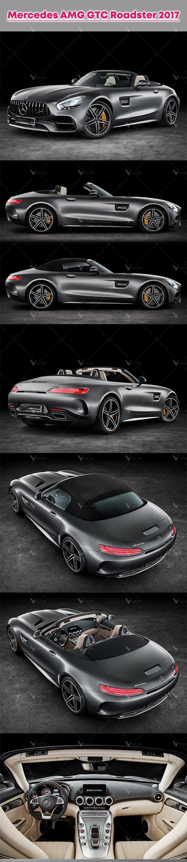 Mercedes AMG GTC Roadster 2017 - 3DOcean Item for Sale