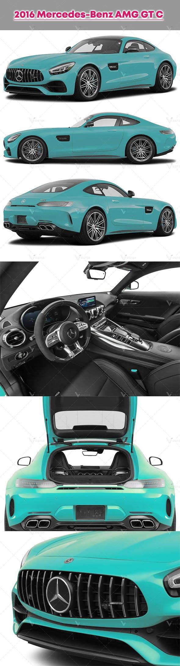 2016 Mercedes-Benz AMG GT C - 3DOcean Item for Sale