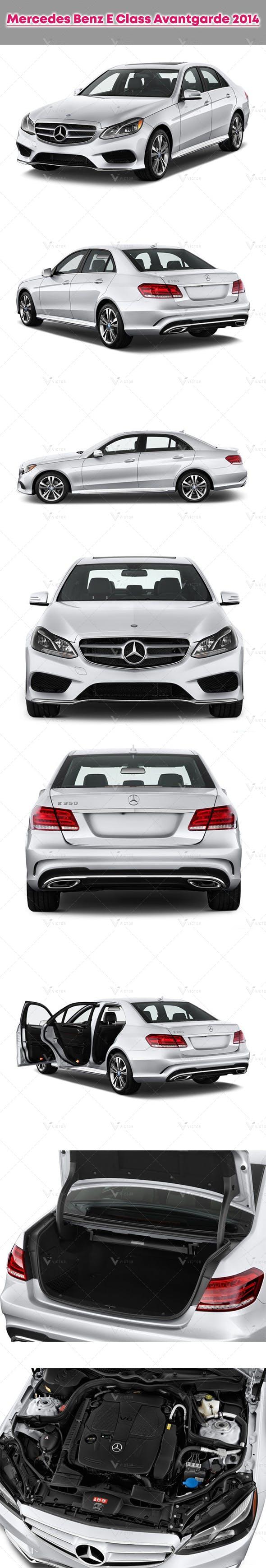 Mercedes Benz E Class Avantgarde 2014 - 3DOcean Item for Sale