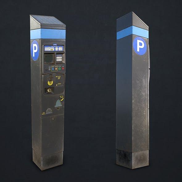Parking Meter - Low Poly - 3DOcean Item for Sale