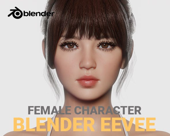 JOY - Realistic Female Character - 3DOcean Item for Sale