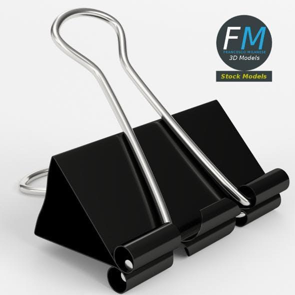 Closed binder clip 1 - 3DOcean Item for Sale