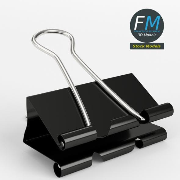 Half open binder clip - 3DOcean Item for Sale