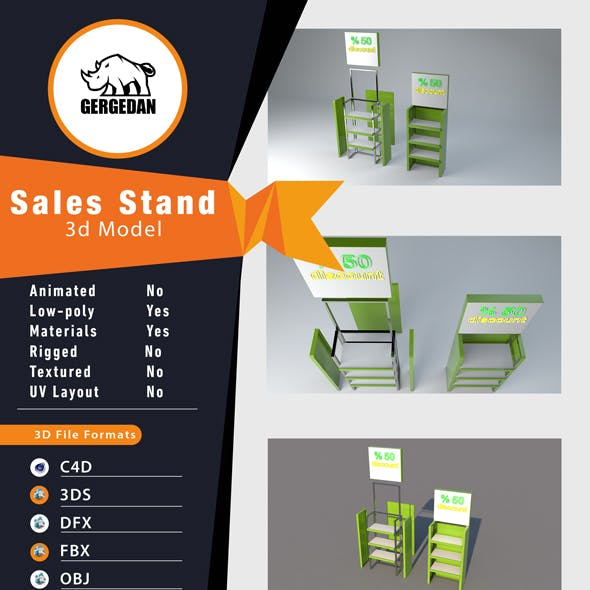 Sales Stand