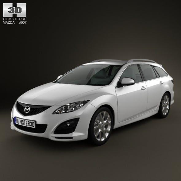 Mazda 6 Wagon 2011 - 3DOcean Item for Sale