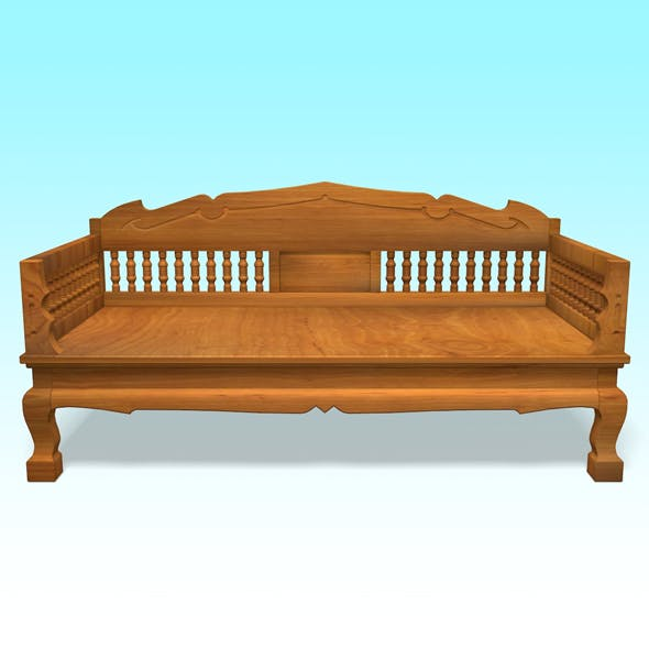 Wood Chair 3