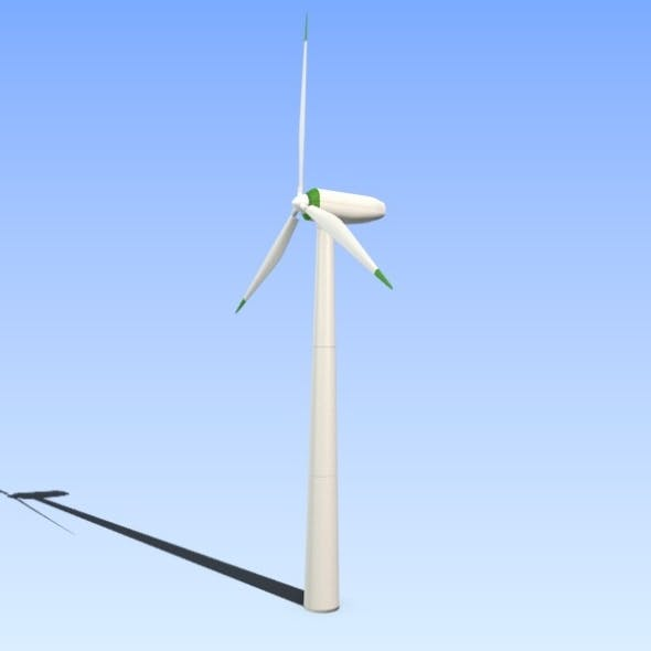 Wind eco turbine - 3DOcean Item for Sale