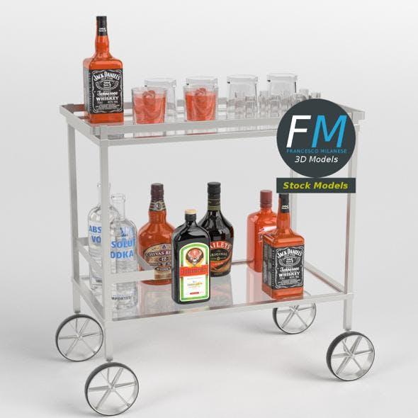 Drinks trolley cart 2