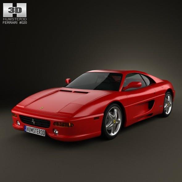 Ferrari F355 F1 Berlinetta 1999 - 3DOcean Item for Sale