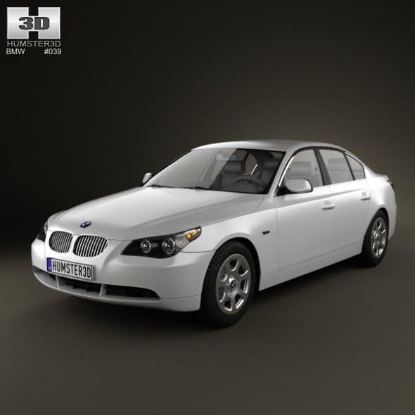 BMW 5 Series Sedan E60 2010 - 3DOcean Item for Sale