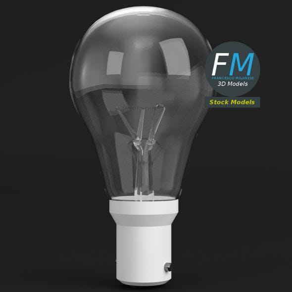 Incandescent light bulb - 3DOcean Item for Sale