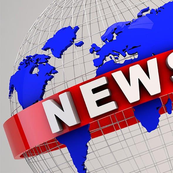 News At 1 3D Model