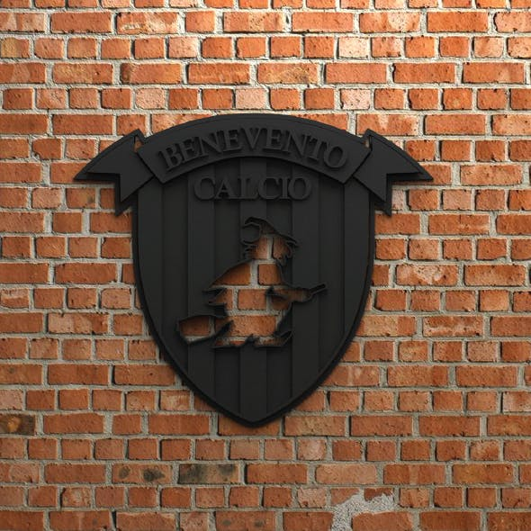 Benevento Calcio Logo - 3DOcean Item for Sale
