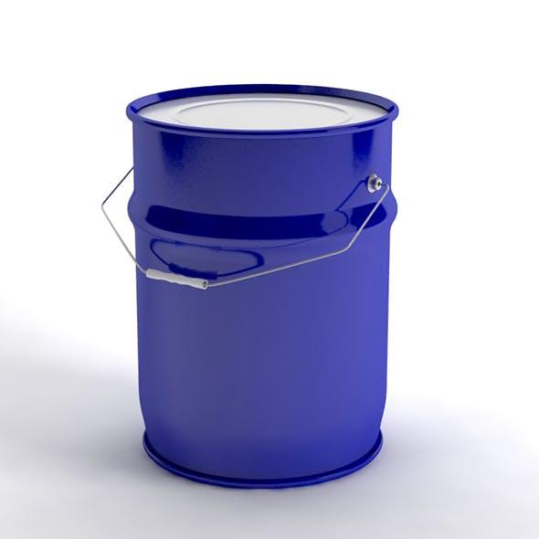 metal paint bucket