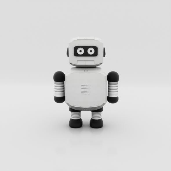 Low Poly Robot