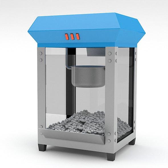 3d popcorn machine