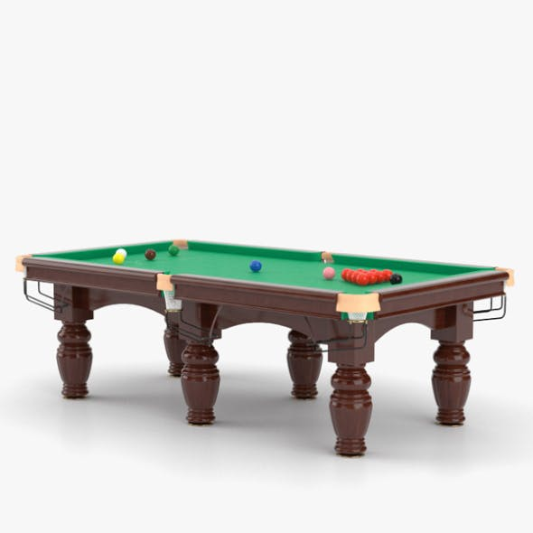 Snooker Table - 3DOcean Item for Sale