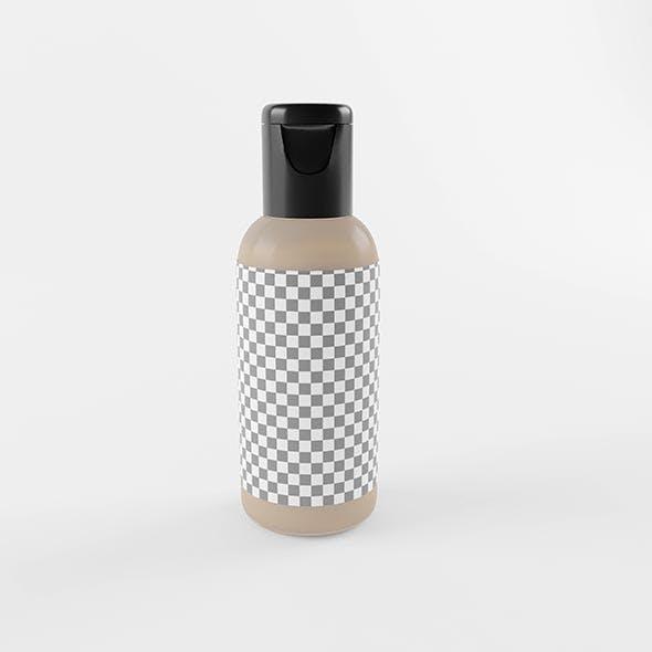 3D Cosmetic Plastic Bottle - 3DOcean Item for Sale