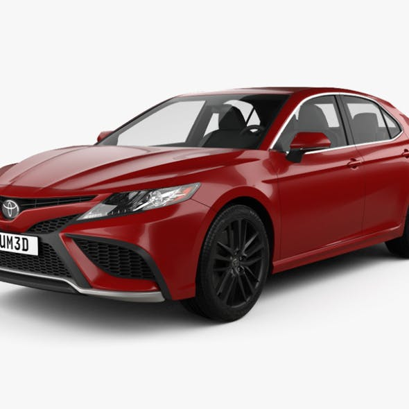 Toyota Camry XSE 2021 - 3DOcean Item for Sale