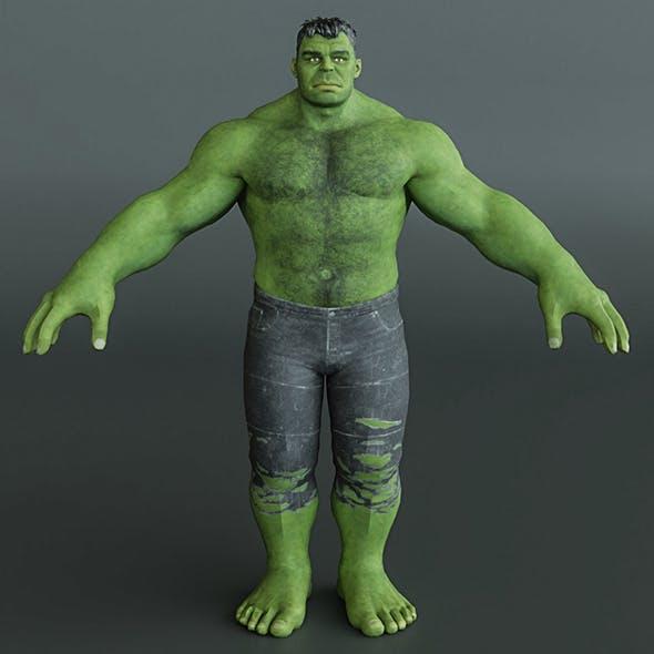 The Hulk - 3DOcean Item for Sale