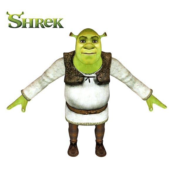 Shrek 3D - 3DOcean Item for Sale
