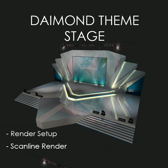 Diamond Theme Stage
