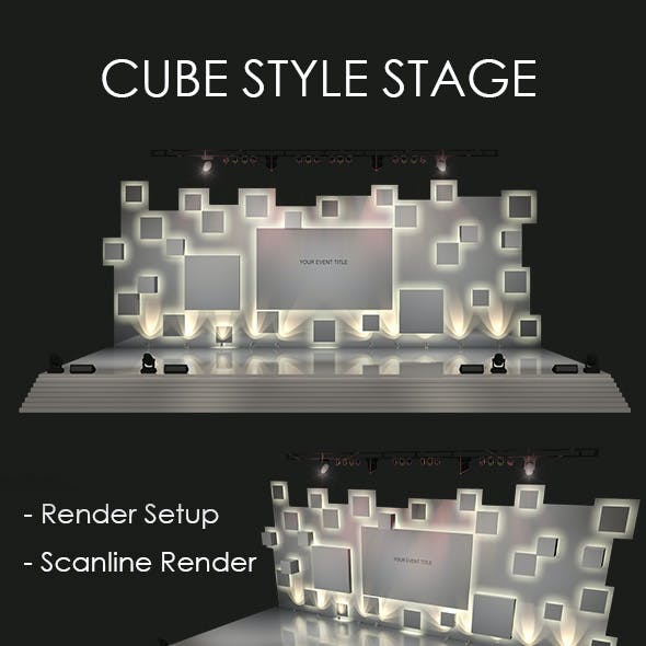 Cube Style Stage