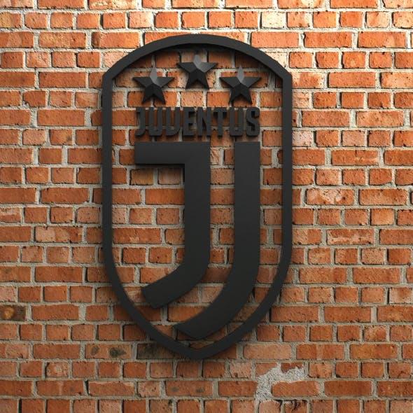 Juventus FC Logo with stars