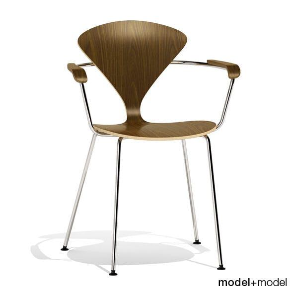 Cherner Metal base chair - 3DOcean Item for Sale