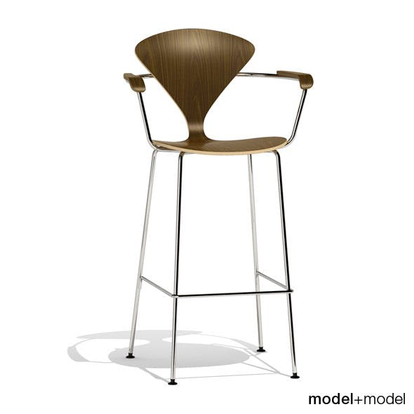 Cherner Metal base stool - 3DOcean Item for Sale