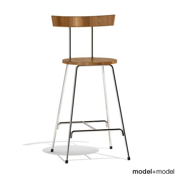 Cherner Konwiser stool - 3DOcean Item for Sale