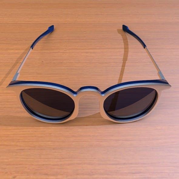 modern glasses - 3DOcean Item for Sale