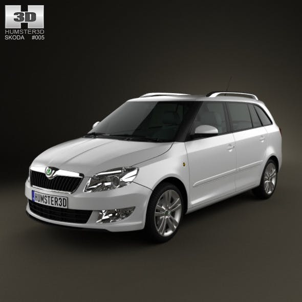 Skoda Fabia Combi 2011 - 3DOcean Item for Sale