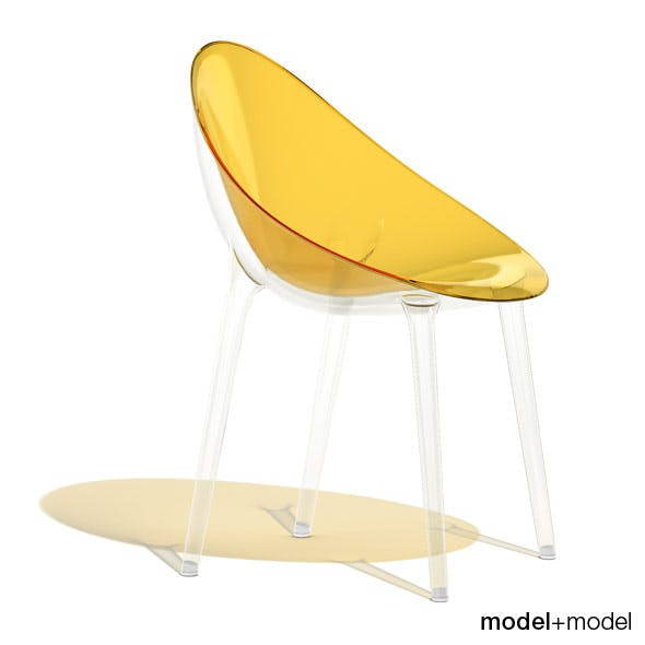 Kartell Mr. Impossible chair - 3DOcean Item for Sale