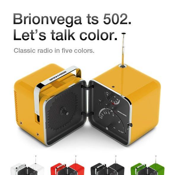 Brionvega TS 502 radio