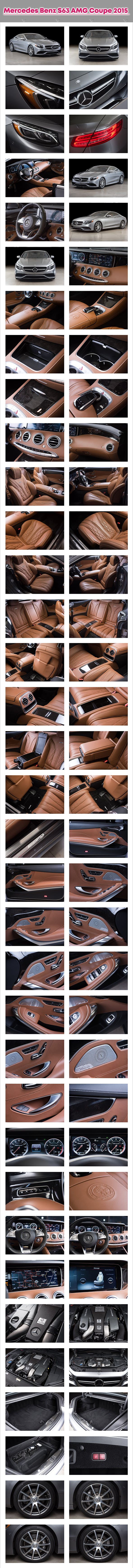 Mercedes Benz S63 AMG Coupe 2015 - 3DOcean Item for Sale