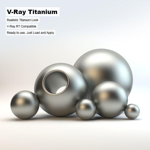 V-Ray Titanium Material - 3DOcean Item for Sale
