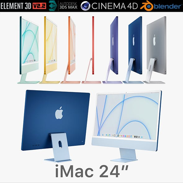 Apple iMac 24-inch 2021 all colors