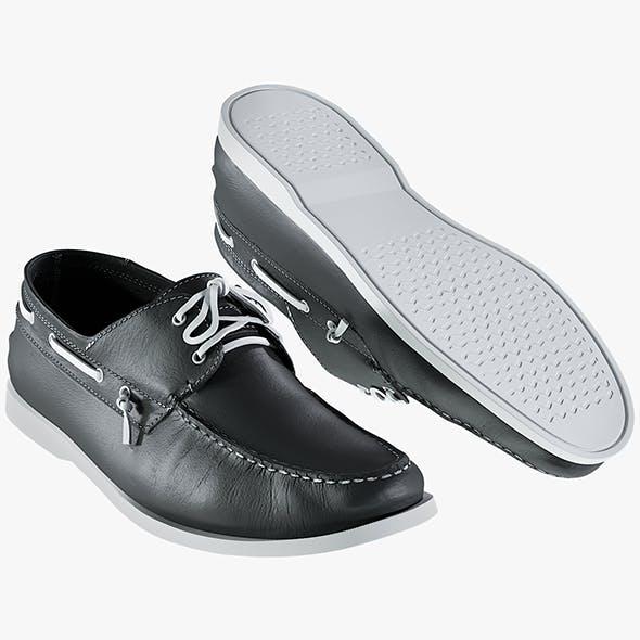 Realistic 3D model of Men's Shoes 1