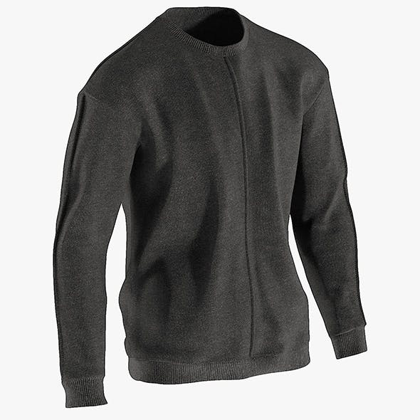 Realistic 3D model of Men's Sweater 1