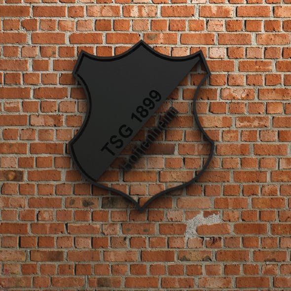 TSG 1899 Hoffenheim Logo - 3DOcean Item for Sale