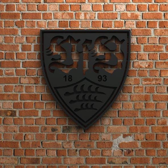 VfB Stuttgart Logo - 3DOcean Item for Sale