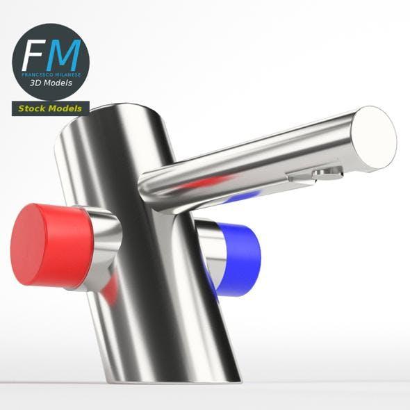 Self closing wash basin faucet