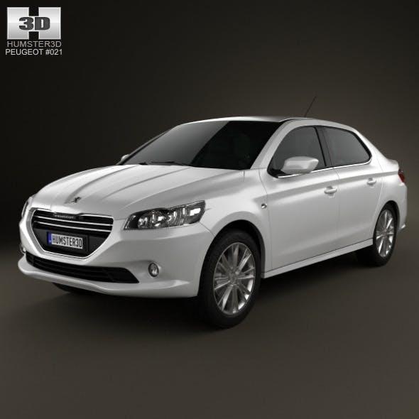 Peugeot 301 2013 - 3DOcean Item for Sale