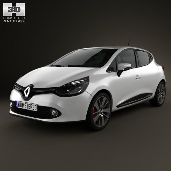 Renault Clio IV 2013 - 3DOcean Item for Sale