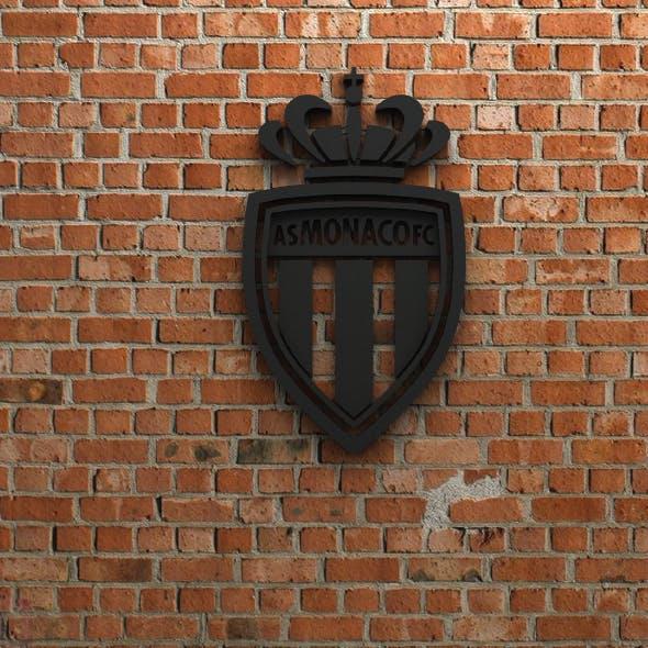 AS Monaco FC Logo - 3DOcean Item for Sale