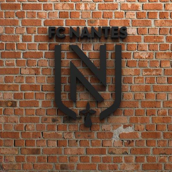 FC Nantes Logo - 3DOcean Item for Sale